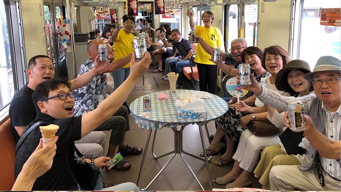 商工会イベント「いずっぱこ居酒屋」開店!(マラソン大会同日イベント)
